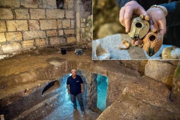 Phát lộ công trình đá 2.000 năm tuổi, chứa nhiều cổ vật dưới lòng đất