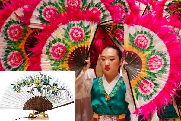 Vẻ đẹp tinh tế của quạt tre truyền thống Hàn Quốc