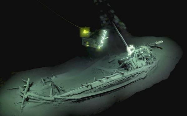 Phát hiện xác tàu cổ nhất thế giới