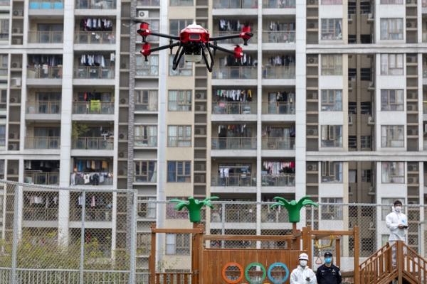 Giao hàng y tế bằng drone, biện pháp tối ưu phòng ngừa Covid-19