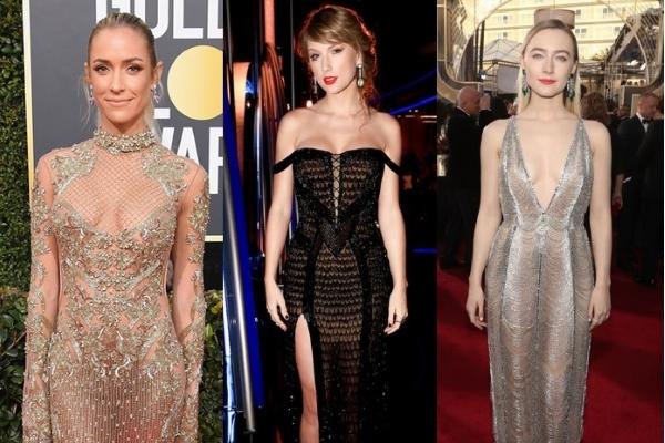 Nhìn lại những bộ váy xuyên thấu ấn tượng tại Quả Cầu Vàng 2019