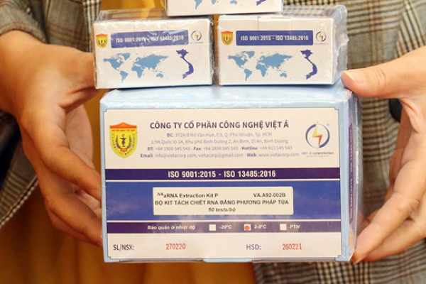 Việt Nam sản xuất 10.000 bộ kit xét nghiệm virus corona một ngày