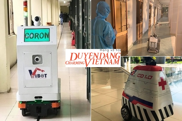 Việt Nam chế tạo nhiều loại robot phòng chống dịch Covid-19