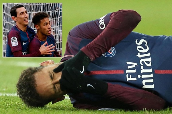 Neymar chấn thương, Di Maria có là cái tên để thay thế ở PSG?