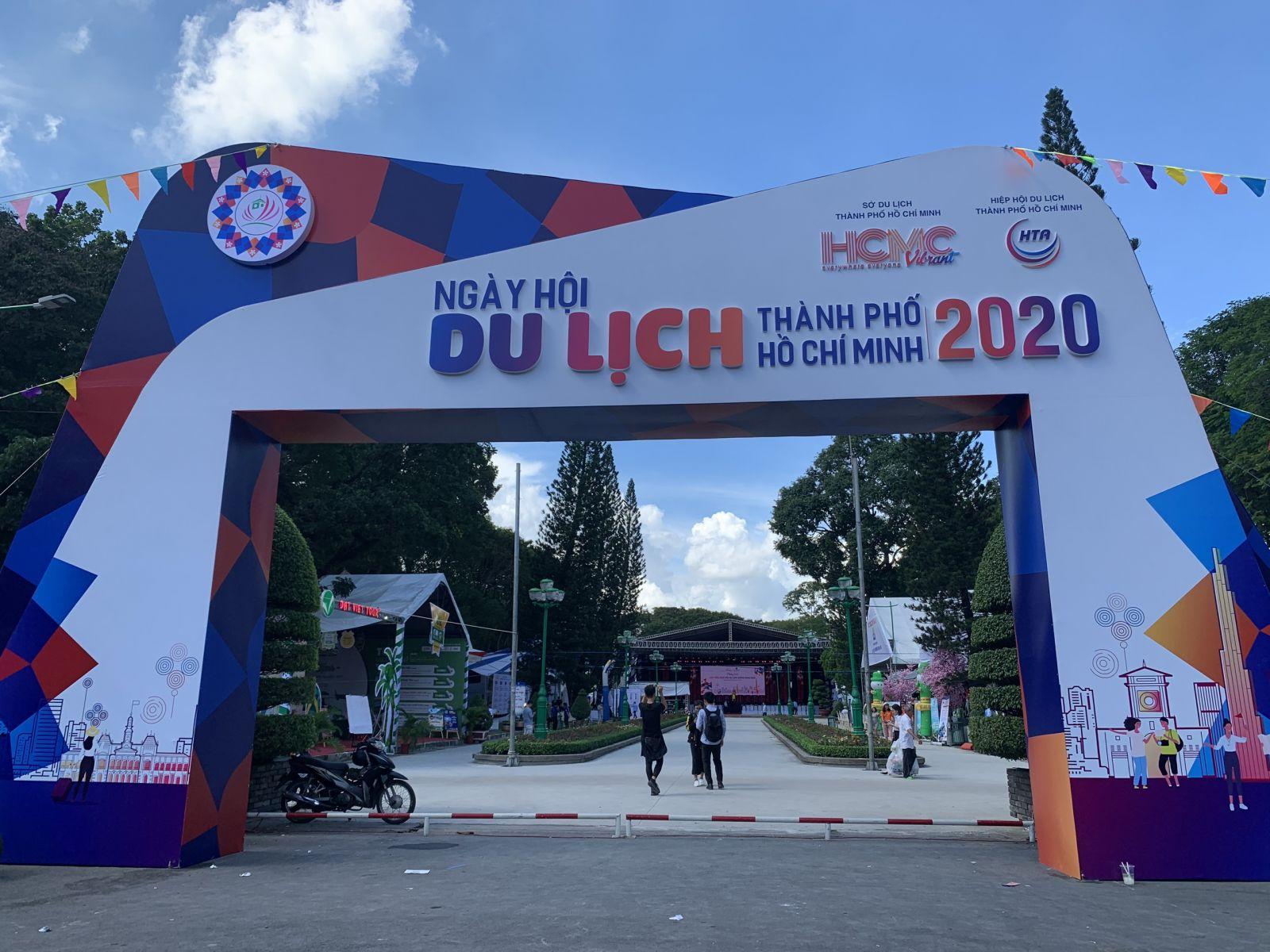 Sau COVID-19, Sài Gòn lại rộn ràng với  'Ngày hội Du lịch TP.HCM 2020'