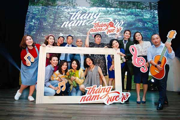 Diễn viên Hồng Ánh rất 'quậy' trong phim 'Tháng năm rực rỡ'