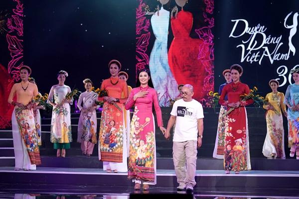 Ý Xuân của Ngọc Hân gây ấn tượng tại Duyên Dáng Việt Nam 30