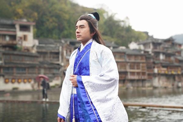 Đan Trường làm phim cổ trang tại Trung Quốc