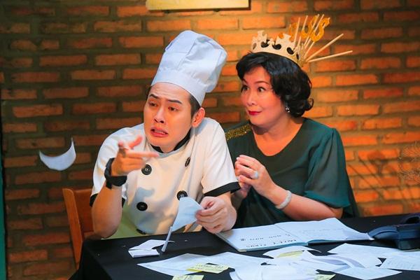 Nghệ sĩ Hồng Vân đóng MV của đàn em Võ Đăng Khoa