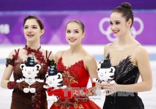 VĐV Nga đoạt HCV môn trượt băng nghệ thuật nữ  tại Olympic Pyeongchang 2018