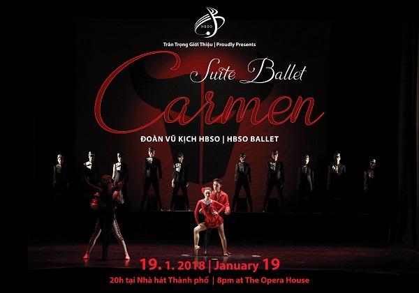 Đêm ballet Suite Carmen tại Nhà hát TP.HCM