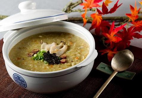 Bồi bổ sức khỏe bằng món cháo bào ngư