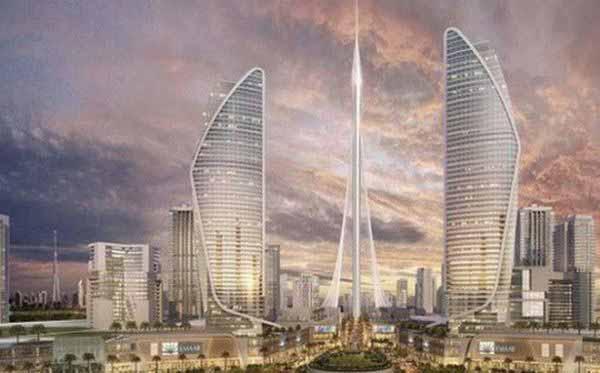 Kỉ lục về tòa nhà cao nhất thế giới sẽ tiếp tục thuộc về Dubai