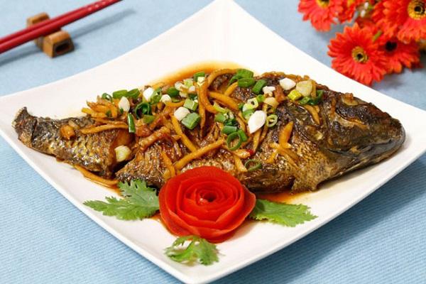 Cá rô phi sốt nước tương đơn giản mà thơm ngon đến nao lòng