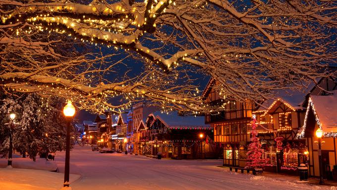Mùa Noel ở những ngôi làng tuyệt đẹp