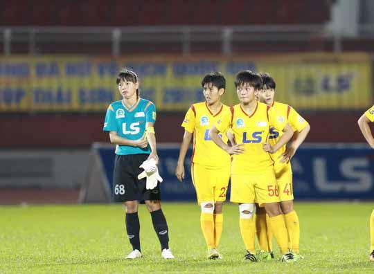 Ngày chia tay buồn của thủ môn kỳ cựu Đặng Thị Kiều Trinh
