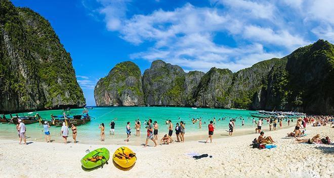Điểm danh những hòn đảo đẹp tuyệt vời của Thái Lan